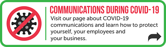 COVID 19 communications page
