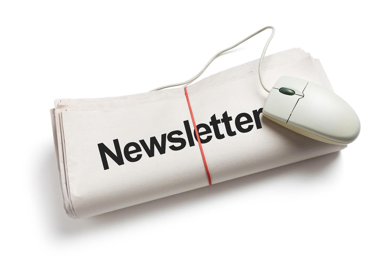 internal company newsletter