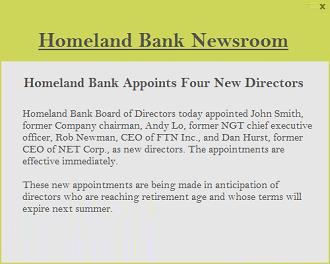 bank communication channel