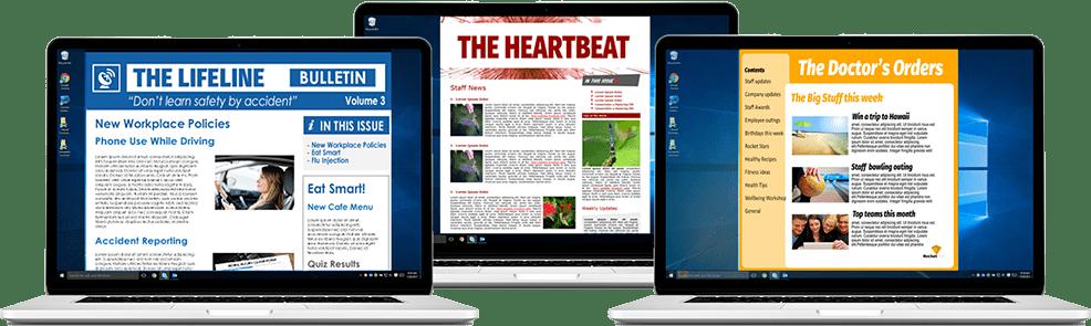 internal newsletters