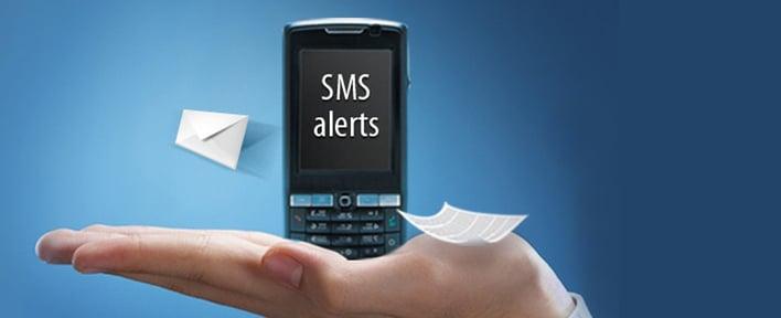 SMS alert notification software