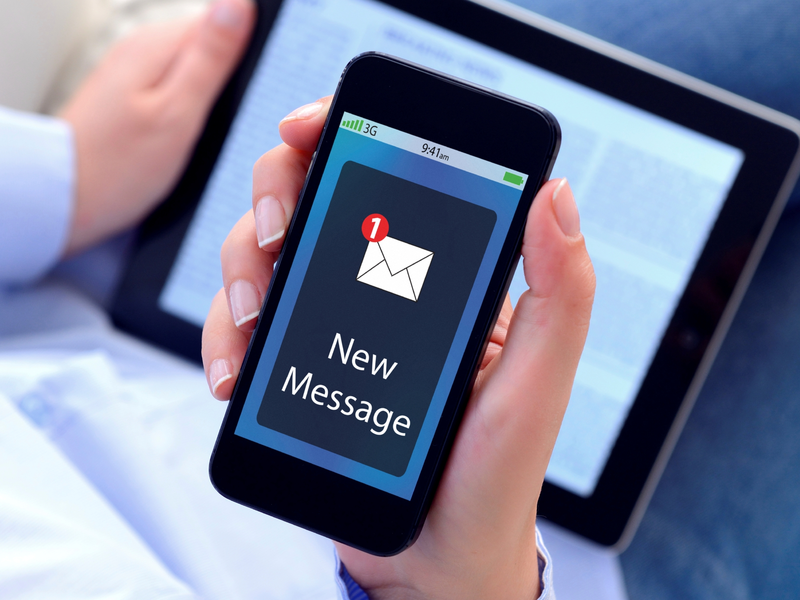 sms notiification