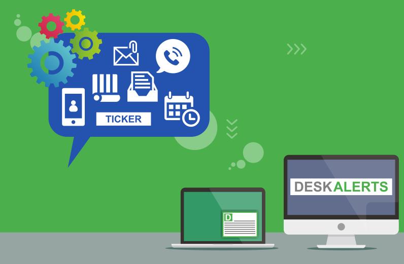 desktop alerts benefits