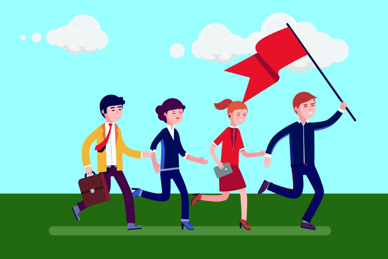 Brand awareness for employee engagement
