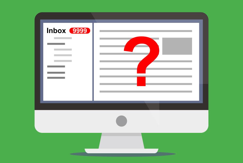deskalerts email overload
