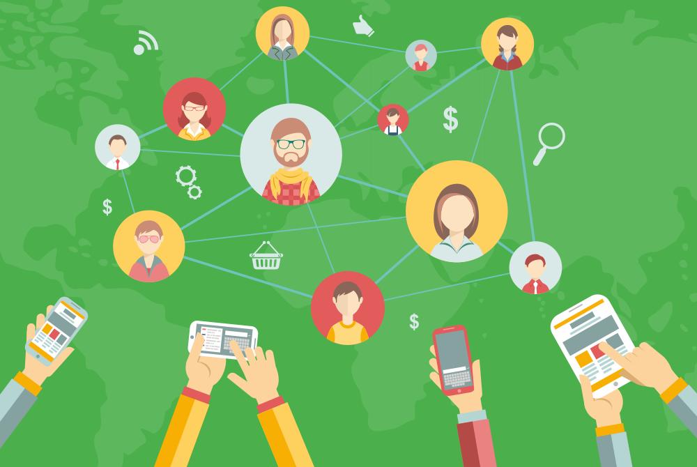 Deskalerts Social Media Integration