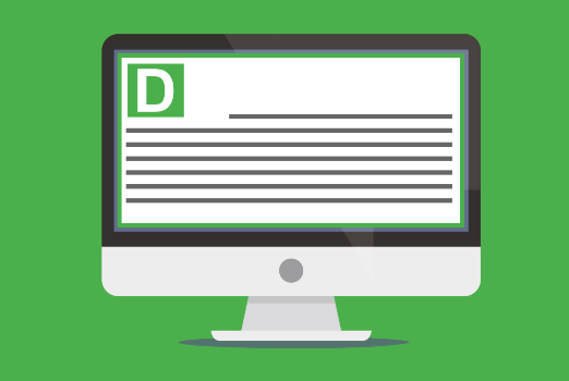 Send interactive screensavers to staff