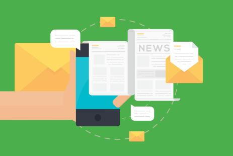 Create a custom newsletter