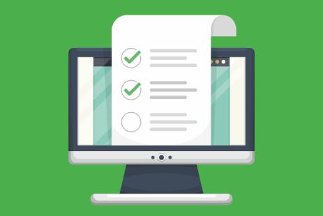 Customize corporate survey pop ups