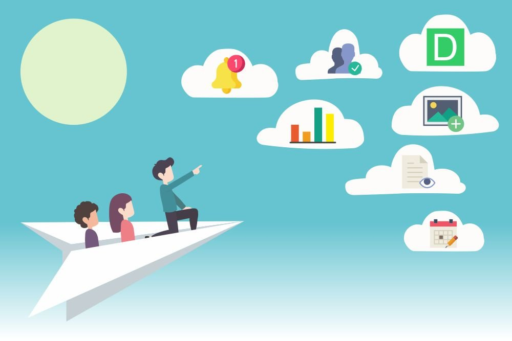 Employee communications in big corporate