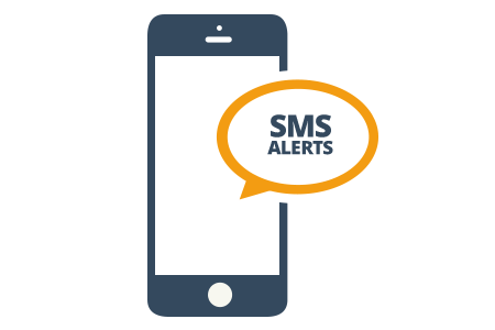 Image result for sms alert