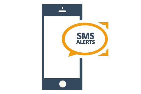 Image result for sms alert