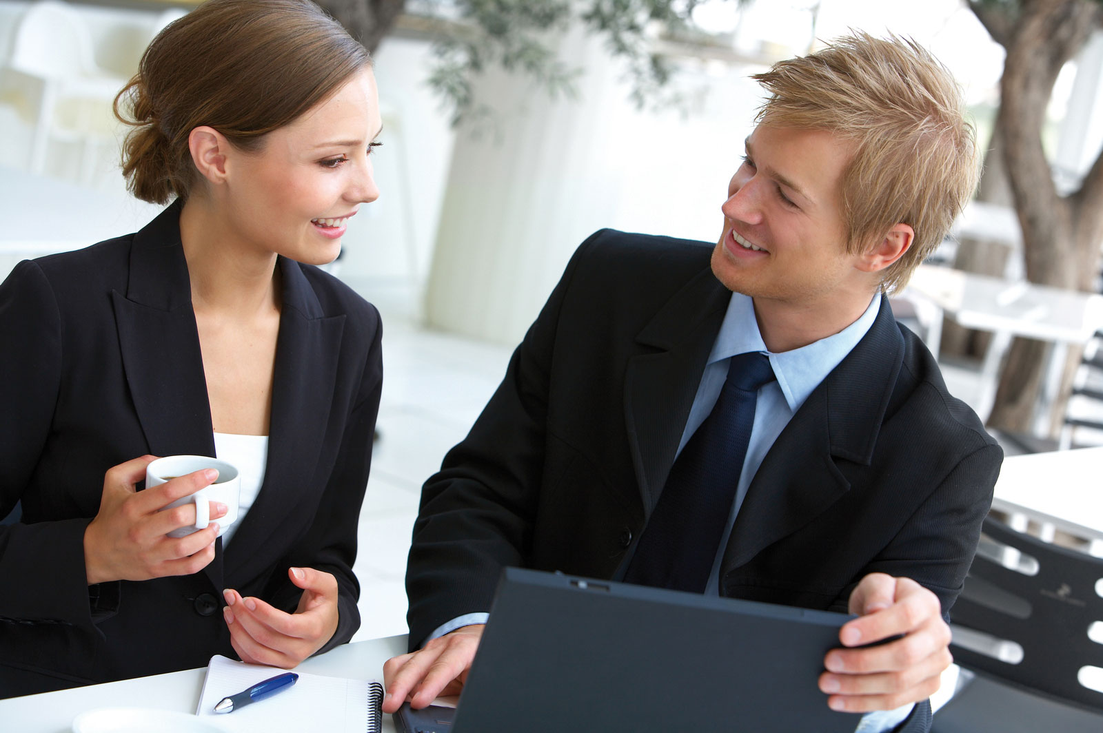 business-people-talking-stock-image