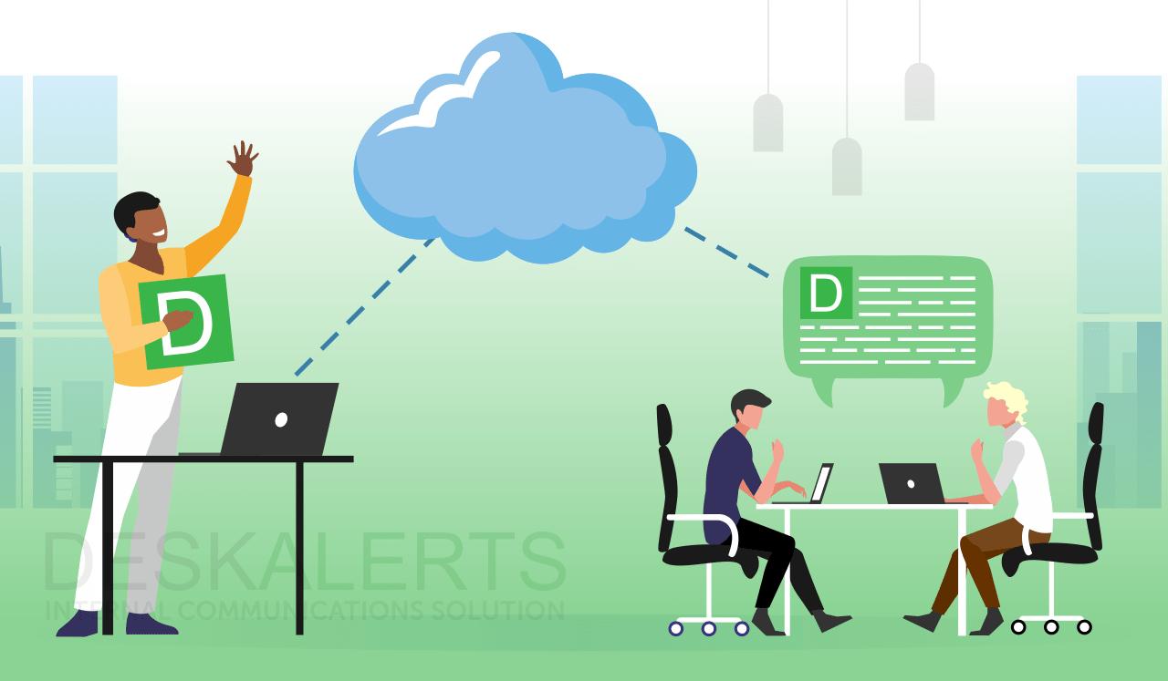 cloud communication system